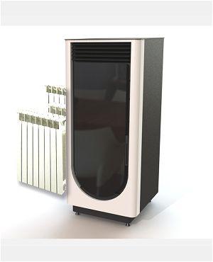 po le pellet dz hybride 19 kw luna. Black Bedroom Furniture Sets. Home Design Ideas